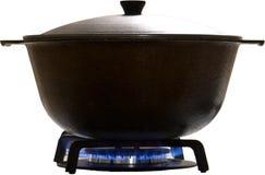 Isolated saucepan Stock Image