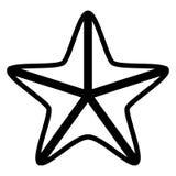 Isolated seastar icon. Image. Vector illustration design Stock Image