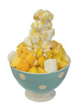 Isolated Shaved Ice Stock Image