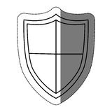 Isolated shield design Royalty Free Stock Photo