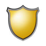 Isolated Shield Royalty Free Stock Images