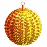 Isolated shiny christmas tree decoration Stock Images