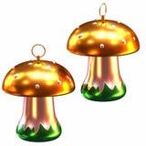 Isolated shiny christmas tree decoration Royalty Free Stock Image