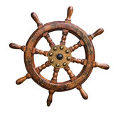 Isolated Ships Wheel Stock Images