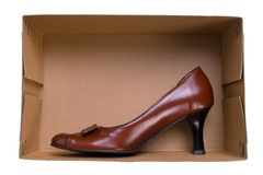 Isolated shoes Royalty Free Stock Photos