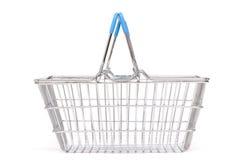 Isolated Shopping Basket Stock Images