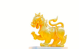 Isolated singha Stock Images