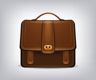 Isolated single briefcase Stock Photos