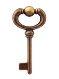 Isolated Skeleton Key Stock Image
