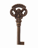Isolated Skeleton Key Royalty Free Stock Images