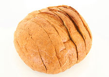 Isolated Sliced bread Stock Photography