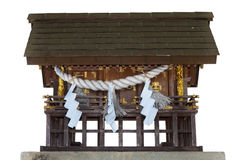 Isolated Small Shrine Royalty Free Stock Images