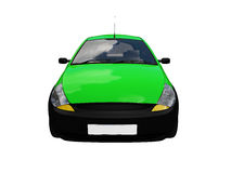 Isolated smarty car front view Royalty Free Stock Photography