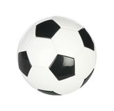 Isolated soccer ball Stock Photo