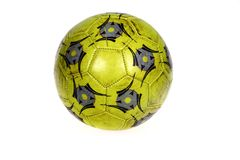 Isolated soccer ball Royalty Free Stock Image