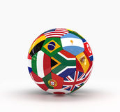Isolated Soccer Ball Stock Images