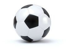 Isolated soccer Stock Photo