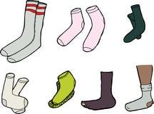 Isolated Socks Royalty Free Stock Photo