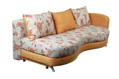Isolated sofa Royalty Free Stock Photography
