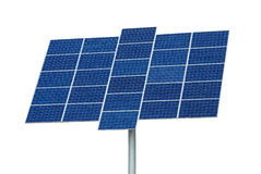 Isolated solar panel Royalty Free Stock Photo