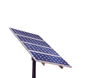 Isolated Solar Panel Royalty Free Stock Image