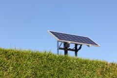 Isolated solar panel Stock Photos