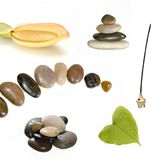Isolated spa elements Stock Image