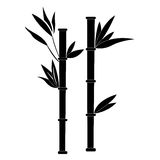 Isolated spa icon. Isolated silhouette of bamboo, Spa icon vector illustration royalty free illustration