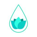 Isolated spa logo Royalty Free Stock Photo