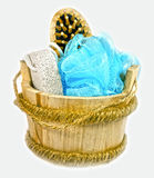 Isolated spa tools Royalty Free Stock Image