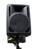 Isolated speaker Stock Photography
