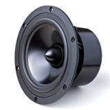 Isolated speaker Stock Image