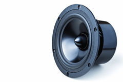 Isolated speaker Stock Images