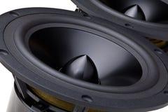 Isolated speaker Stock Photo
