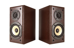 Isolated Speakers w/path Royalty Free Stock Photo