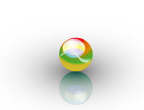 Isolated Sphere  Stock Photography