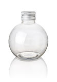Isolated spherical bottle Stock Images