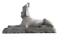 Isolated Sphinx Royalty Free Stock Photo