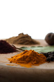 Isolated Spices Royalty Free Stock Images