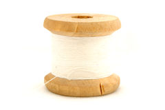 Isolated spools Royalty Free Stock Photos