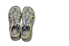 Isolated sport sandals Stock Image