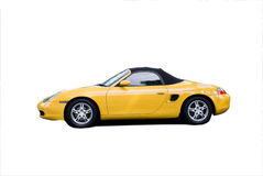 Isolated Sports Car Royalty Free Stock Photo