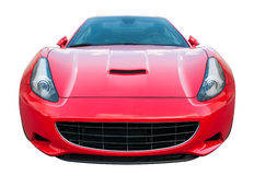 Isolated Sports Car Royalty Free Stock Photography