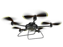 Isolated Spy Drone Stock Photo