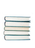 Isolated stack of books Stock Images