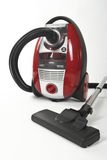 Isolated Stainless Steel Vacuum Cleaner Royalty Free Stock Photo