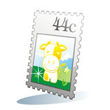 Isolated stamp Royalty Free Stock Image