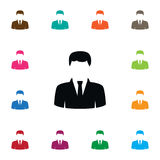 Isolated Statesman Icon. President Vector Element Can Be Used For President, Statesman, Politician Design Concept. Royalty Free Stock Photo
