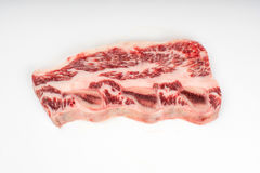 Isolated steak Royalty Free Stock Photo