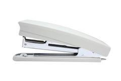 Isolated stepler over white background. Light grey isolated stepler over white background Stock Photos